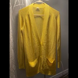 Hermes - button up yellow size 38